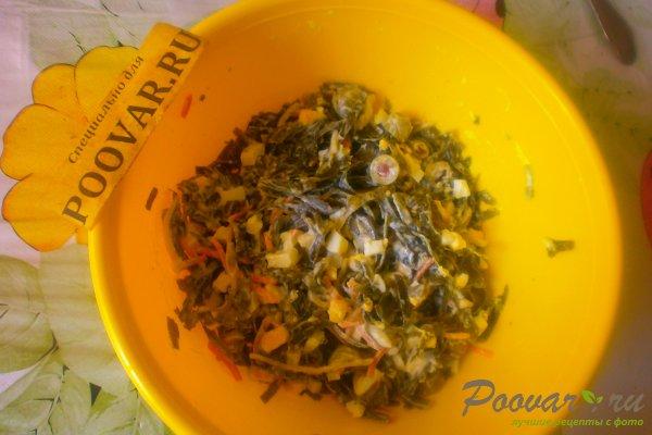 Салат из морской капусты с оливками Шаг 10 (картинка)