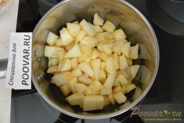 Слоеный пирог с яблоками и смородиной Шаг 1 (картинка)