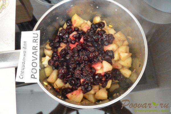 Слоеный пирог с яблоками и смородиной Шаг 2 (картинка)