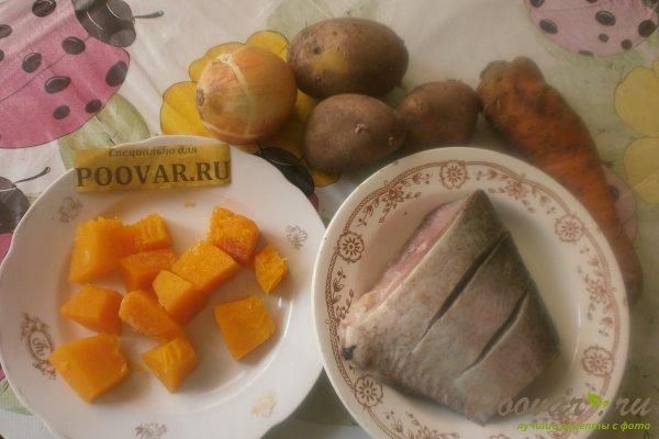 Запечённый толстолобик с овощами Шаг 1 (картинка)