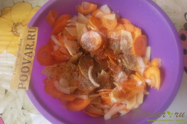 Запечённый толстолобик с овощами Шаг 6 (картинка)