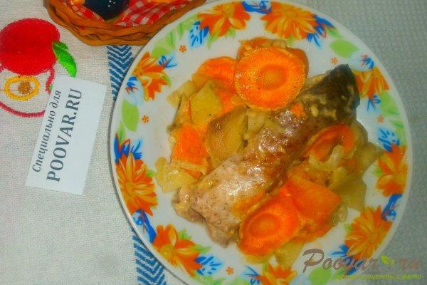 Запечённый толстолобик с овощами Шаг 15 (картинка)