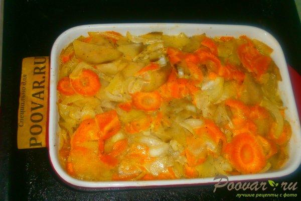 Запечённый толстолобик с овощами Шаг 14 (картинка)