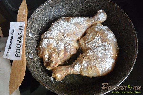Жареные окорочка на сковороде Шаг 7 (картинка)