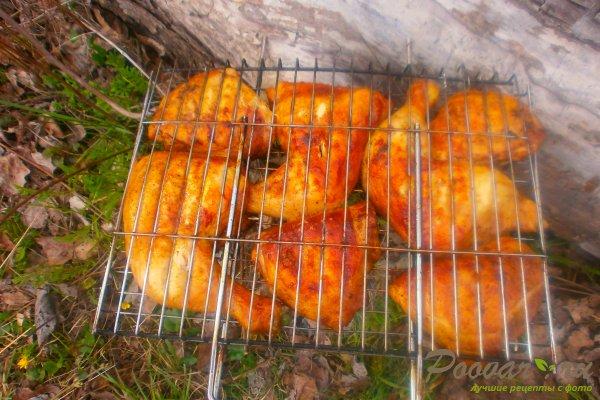 Маринованная курица на мангале Шаг 13 (картинка)