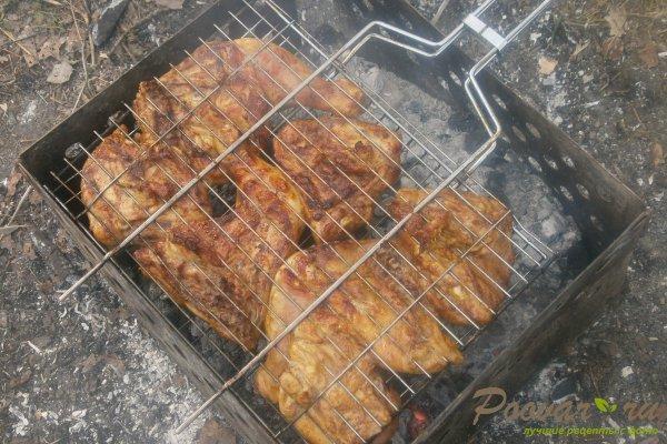 Маринованная курица на мангале Шаг 11 (картинка)