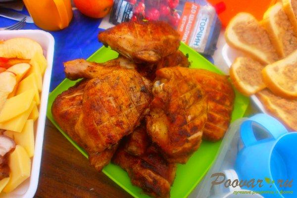 Маринованная курица на мангале Шаг 14 (картинка)