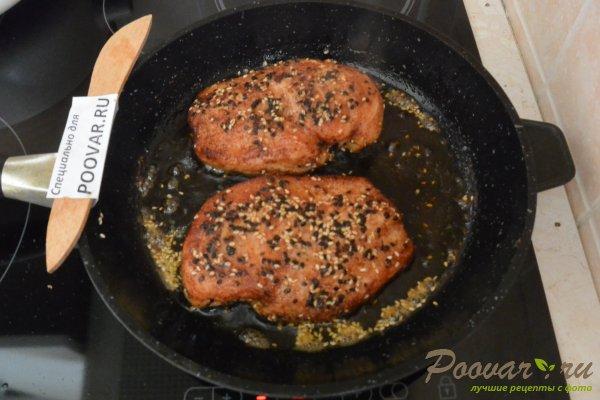 Сочная куриная грудка на сковороде Шаг 8 (картинка)