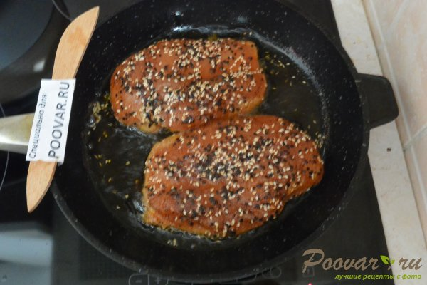 Сочная куриная грудка на сковороде Шаг 7 (картинка)