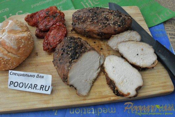 Сочная куриная грудка на сковороде Изображение