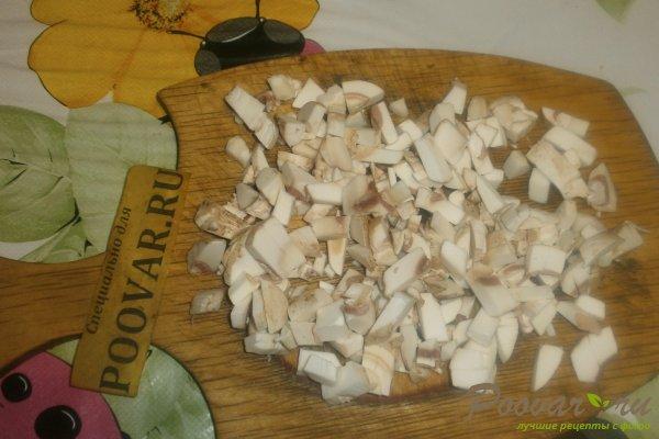 Куриные шарики с грибами и курагой Шаг 8 (картинка)