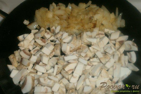 Куриные шарики с грибами и курагой Шаг 9 (картинка)