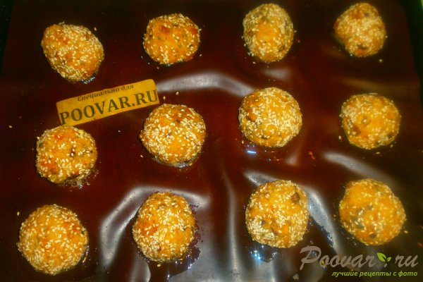 Куриные шарики с грибами и курагой Шаг 16 (картинка)