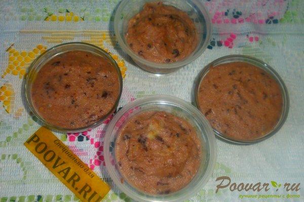 Пудинг на манке с ягодами Шаг 10 (картинка)