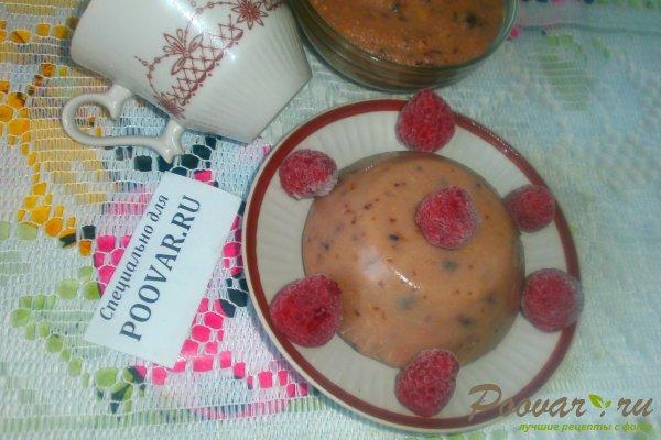 Пудинг на манке с ягодами Шаг 11 (картинка)