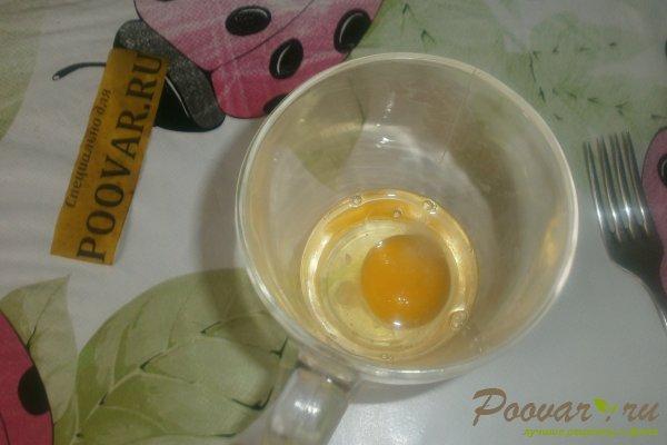 Салат из капусты и яичных блинчиков Шаг 9 (картинка)