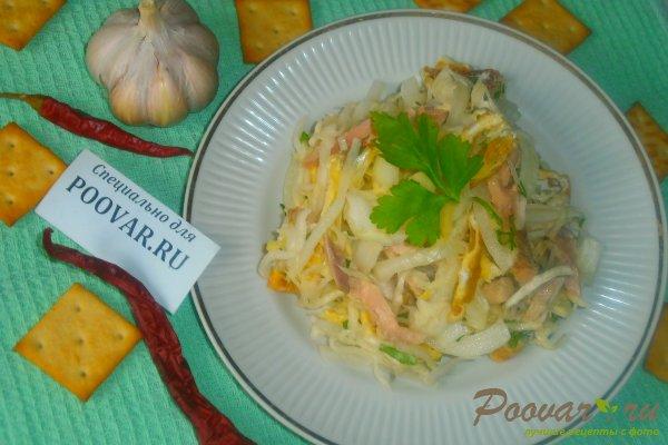 Салат из капусты и яичных блинчиков Шаг 18 (картинка)