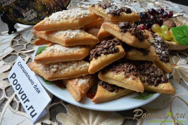 Рассыпчатое печенье с шоколадом Изображение