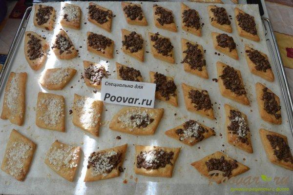 Рассыпчатое печенье с шоколадом Шаг 17 (картинка)