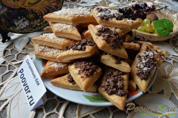 Рассыпчатое печенье с шоколадом Шаг 18 (картинка)