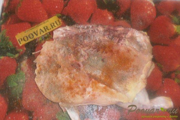 Курица в духовке с томатным соусом Шаг 4 (картинка)