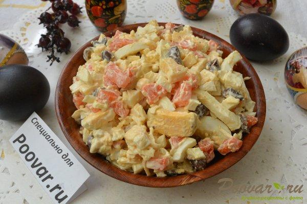 Салат из моркови с сыром и яйцами Шаг 10 (картинка)