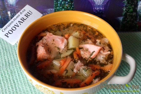 Рыбный суп из форели Изображение