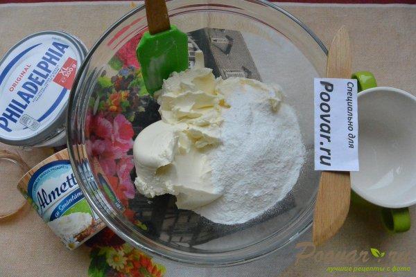 Чизкейк без выпечки с фруктами и желе Шаг 7 (картинка)