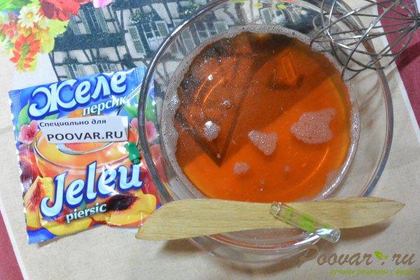 Чизкейк без выпечки с фруктами и желе Шаг 15 (картинка)