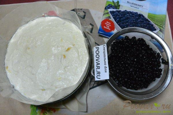 Чизкейк без выпечки с фруктами и желе Шаг 16 (картинка)
