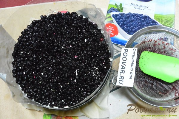Чизкейк без выпечки с фруктами и желе Шаг 17 (картинка)