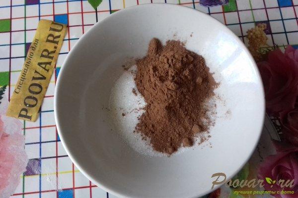 Пирог с вишней и какао Шаг 4 (картинка)