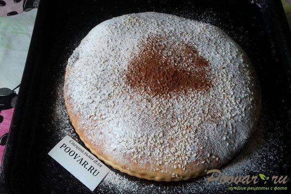 Пирог с вишней и какао Шаг 15 (картинка)