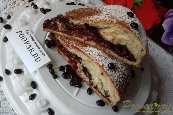 Пирог с вишней и какао Шаг 16 (картинка)