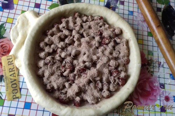 Пирог с вишней и какао Шаг 11 (картинка)