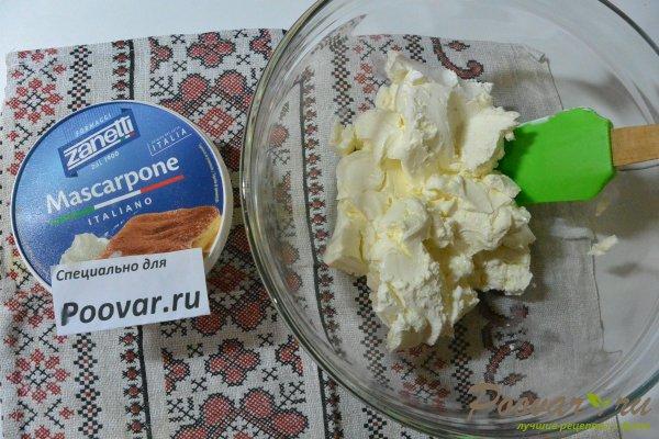 Десерт с печеньем савоярди и шоколадом Шаг 5 (картинка)