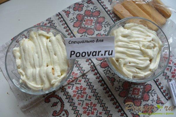 Десерт с печеньем савоярди и шоколадом Шаг 16 (картинка)