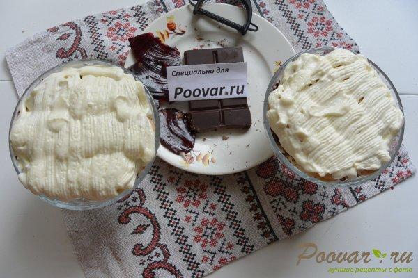 Десерт с печеньем савоярди и шоколадом Шаг 18 (картинка)