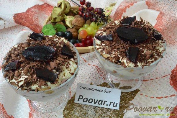 Десерт с печеньем савоярди и шоколадом Шаг 20 (картинка)