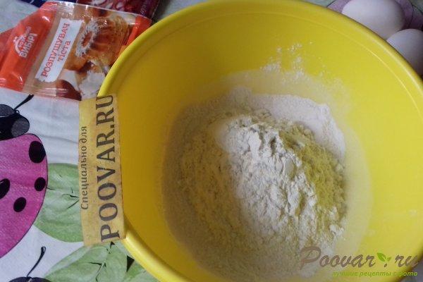 Пирог из киселя с вишней Шаг 3 (картинка)
