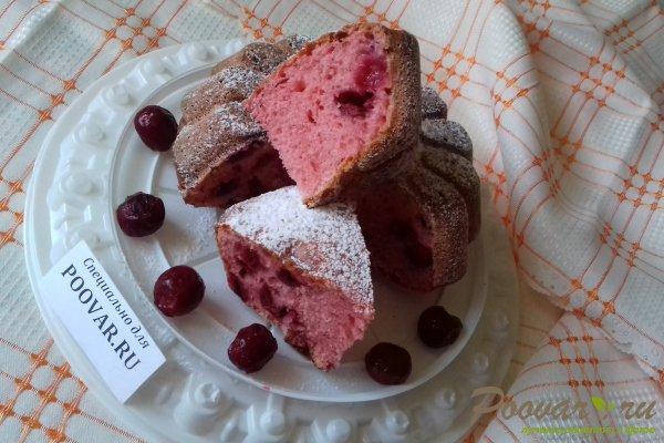Пирог из киселя с вишней Шаг 13 (картинка)