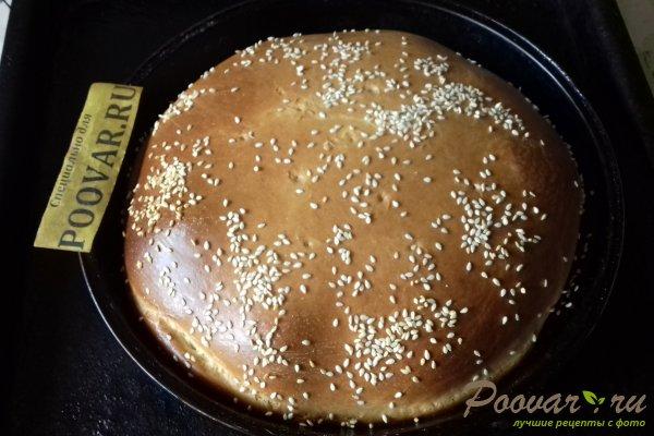 Пирог с рыбой и грибами Шаг 15 (картинка)