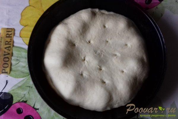 Пирог с рыбой и грибами Шаг 14 (картинка)