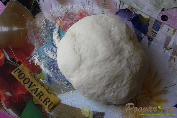 Пирог с рыбой и грибами Шаг 8 (картинка)