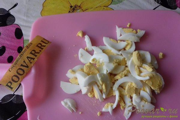 Салат с капустой и кальмарами Шаг 9 (картинка)