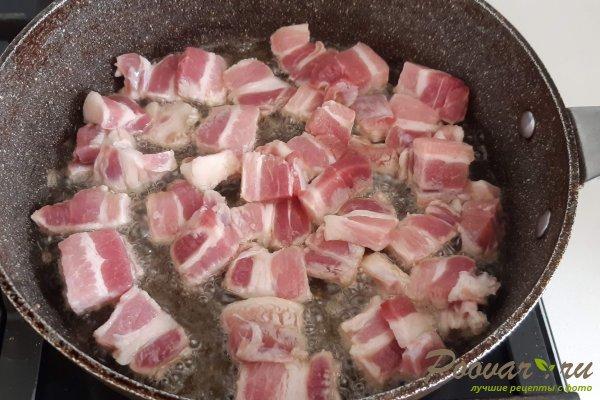 Молодой картофель со свининой на сковороде Шаг 4 (картинка)