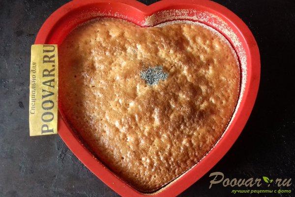 Клубничный пирог с киселём Шаг 10 (картинка)