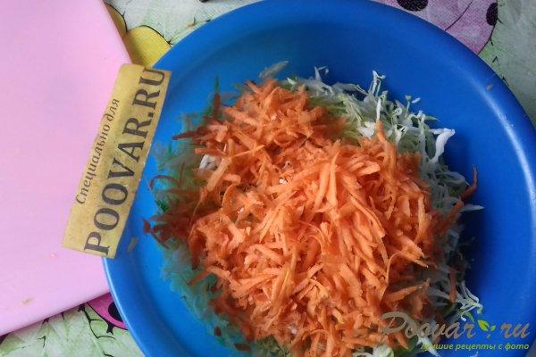 Салат из капусты со свёклой и яблоком Шаг 3 (картинка)