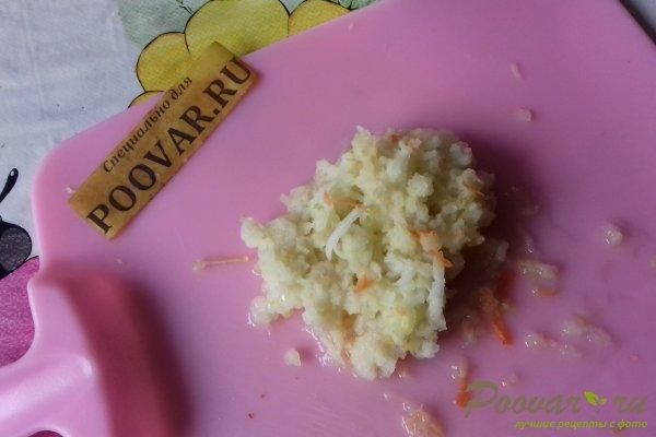 Салат из капусты со свёклой и яблоком Шаг 6 (картинка)