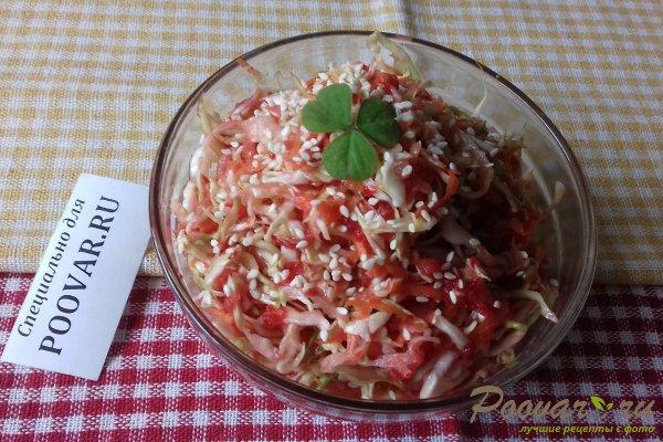 Салат из капусты со свёклой и яблоком Шаг 13 (картинка)